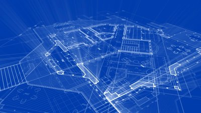 stock-footage-abstract-architecture-background-blueprint-house-plan